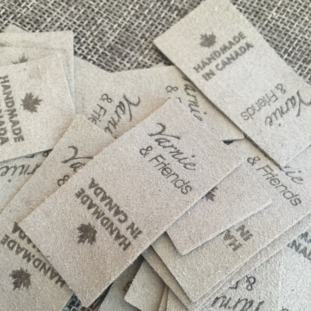 Suede Labels