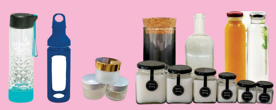 Jars, Bottles & Packaging Products
