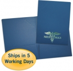 Promotional products: Economical foil stamped folders (letter or legal size)