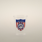 Promotional products: 10oz clear plastic cups