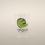 Promotional products: 12oz clear plastic cups