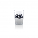 Promotional products: 10 oz clear hard plastic cup