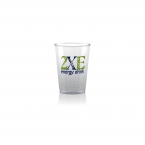 Promotional products: 7 oz clear hard plastic cup