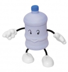 Promotional products: Water bottle figure