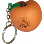 Promotional products: Peach key chain