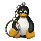 Promotional products: Sitting penguin key chain