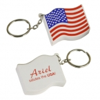 Promotional products: Us flag key chain