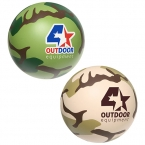 Promotional products: Camouflage stress ball