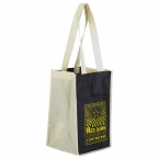 Promotional products: Product in Action; SUN SHOWER 4-BOTTLE WINE BAG