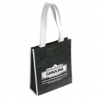 Promotional products: Product in Action; THE PEAK TOTE BAG WITH POCKET