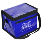 Promotional products: TUNDRA GLAZE COOLER BAG BLUE
