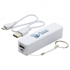 Promotional products: IN-STYLE POWER BANK WHITE