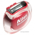 Promotional products: Product in Action; CLEARVIEW PEDOMETER