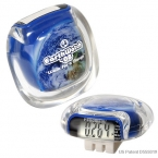 Promotional products: EARTH CLEARVIEW PEDOMETER