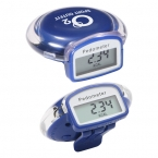 Promotional products: ROUND STEP PEDOMETER