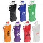 Promotional products: FLIP TOP FOLDING WATER BOTTLE