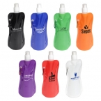 Promotional products: FLEX WATER BOTTLE WITH CARABINER