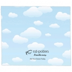 Promotional products: PREMIUM MICROFIBER CLEANING CLOTH - CLOUDS