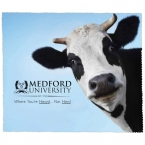 Promotional products: PREMIUM MICROFIBER CLEANING CLOTH - COW