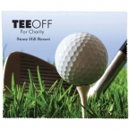 Promotional products: PREMIUM MICROFIBER CLEANING CLOTH - GOLF