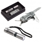 Promotional products: PREMIUM MULTI-TOOL GIFT SET GUNMETAL/BLACK