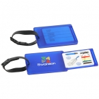 Promotional products: TRAVEL AID LUGGAGE TAG & SEWING KIT