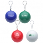 Promotional products: Product In Action; Rainy Day Poncho Ball