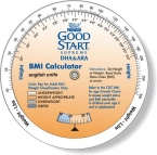 Promotional products: 3 Wheel Cal. BMI - Children / Adult (4.25