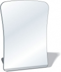 Promotional products: .080 Standing Acrylic Safety Plastic Mirror / free form with round corners (3