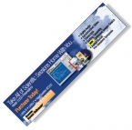 Promotional products: .020 White Styrene Plastic Monitor Billboard / with adhesive back & plain front (2.75