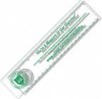 Promotional products: .020 Clear Plastic 8