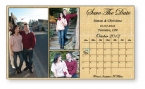 Promotional products: .020 Magnet - Save The Date Cards 4
