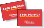 Promotional products: .040 Custom Shape Double-Sided Magnets (4.1 to 5 square inches) Screen-printed
