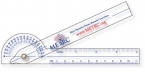 Promotional products: .040 Clear Plastic Goniometer (1.5