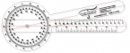 Promotional products: .040 Clear Plastic Goniometer (5