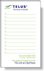 Promotional products: 50 Sheet Magnetic Note Pads (3