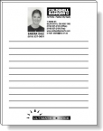 Promotional products: 50 Sheet Magnetic Note Pads (4.25