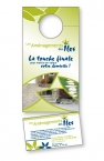 Promotional products: 14 pt Cardstock Doorhanger 3.5