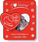 Promotional products: .020 Rectangular Magnetic Photo Frame (2.75