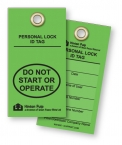 Promotional products: .023 Colored Polyethylene Plastic Tag (4 to 7 sq/in) screen-printed