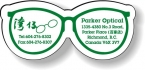 Promotional products: .020 Stock Shape Magnets / Eye Glasses (1.19