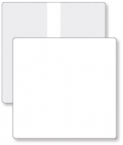 Promotional products: Econo White Portfolio Travel & Passport holder, open size (9.25