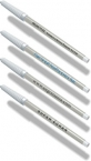 Promotional products: Damp-erase Pens with White Barrel & Cap / black ink. Imprinted 1 color