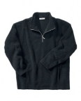 Promotional products: MEN'S SOLID POLYESTER FLEECE HALF-ZIP