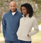 Promotional products: MEN'S MICROFLEECE HALF-ZIP