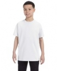 Promotional Jerzees Youth 9.3 oz., 50/50 Heavyweight Blend™ T-Shirt White