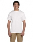 Promotional Jerzees 8.3 oz. HiDENSI-T® T-Shirt White