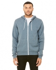 Promotional products: Bella + Canvas® Unisex Poly-Cotton Fleece Full-Zip Hoodie