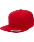 Promotional products: 6-Panel Structured Flat Visor Classic Snapback