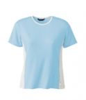 Promotional products: LADIES' POLYESTER SPANDEX COLOUR BLOCK TOP